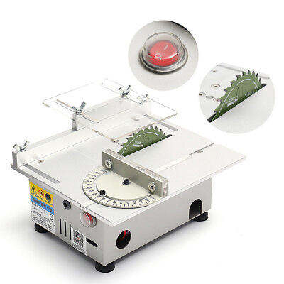 Portable Precision Bench Top Cutting Machine Small Table Saw Woodworking  !