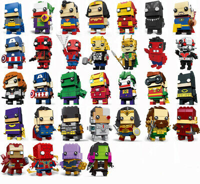 DC Marvel  Avengers Super Hero BIG MIni Figure Fits Lego Exquisite Figure