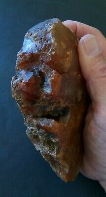 Prehistoric Native American rock art hand tool.