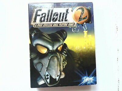Pc Fallout 2 A Post Nuclear Role-Playing Game Interplay 1998 18 (Cd-Rom) Rpg (R