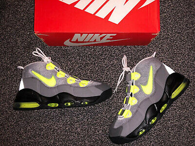 New Men's Nike Air Max Uptempo 95 QS Trainers Size UK 7.5 CK0891 001