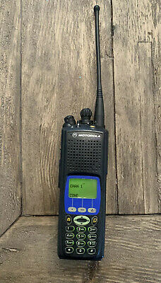 Motorola XTS5000 Model III Radio Astro Police 800MHz Digital Portable 2-Way BLUE