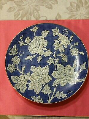 Antique Chinese porcelain Plate hand made market excellent condition rare Old...