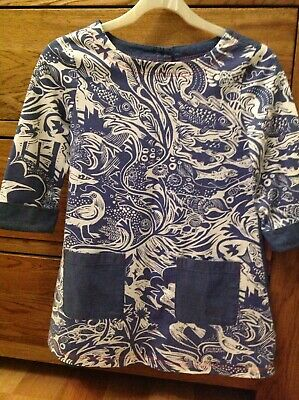 Girls Mini Boden Dress Tunic Top Age 7-8 NWOT Immaculate