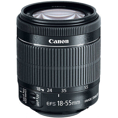 Canon EF-S 18-55mm f/3.5-5.6 IS STM Lens WHITE BOX