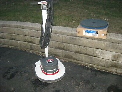 """NO SHIPPING Advance Whirlamatic 20"""" Walk behind Commercial Floor Buffer Scrubber"""