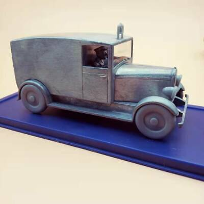 The Adventure Of Tintin Prototype Ambulance Car Diecast Collectibles 1/43 Herge