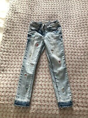 Girls Next Skinny Jeans Age 5 Years Hardly Worn