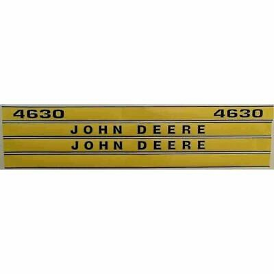 New fits John Deere Tractor 4630 Hood Decal Set