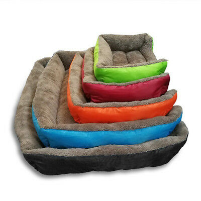 Medium size pet dog cat bed puppies cushion house soft warm kennel blanket blank