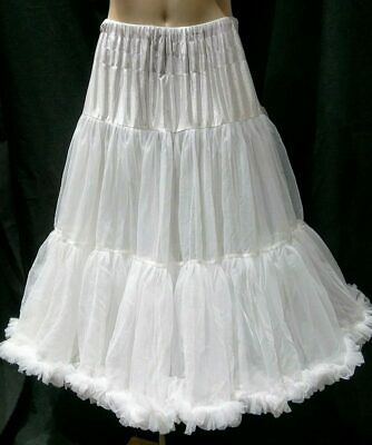 "Banned Apparel Lifeforms Petticoat, 26"", White"