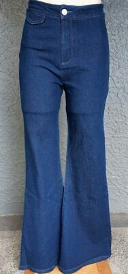 Banned Apparel Legs Eleven Denim Flared Trousers