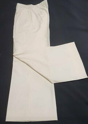Flares, super wide, front pleat, 1970's, by 'John Cook Shop', size S, 32""