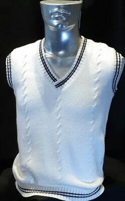 Cricket knitted vest, acrylic, USA size M