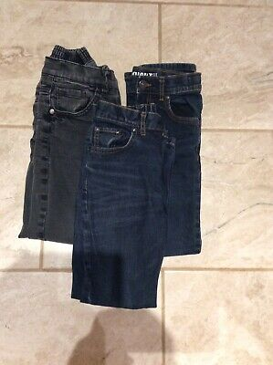 3 Pairs Boys Jeans. VGC. Age 8/9