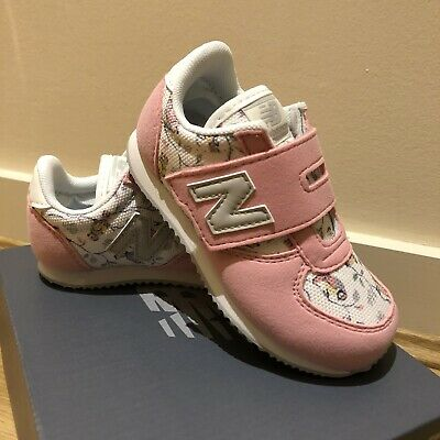 NEW BALANCE X CATH KIDSTON 220 Baby Girl Toddler Trainers Pink Birds Size UK 7