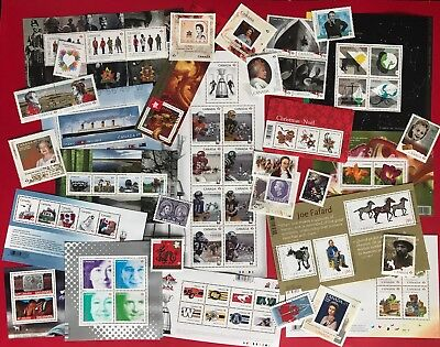 Canada 2012 Postage Stamps - Complete Year Annual Collection Stamp - Free Ship