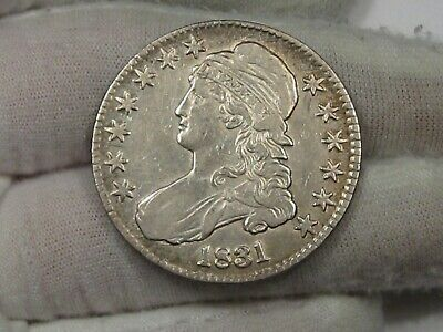 Better Grade 1831 Bust Half Dollar.  #17