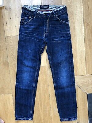 Designer SCOTCH SHRUNK SKOTCH & SODA boys jeans STONE ISLAND quality-10y RRP£95!