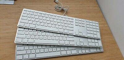 Apple Keyboard with Numeric Keypad A1243 - Silver - (AU Stock)