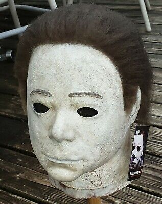 HALLOWEEN Prop Replica Clown YOUNG MICHAEL MYERS MASK Collegeville-esque. NEW