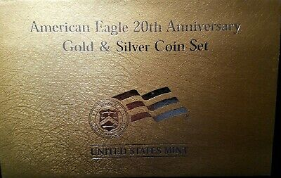 2006 American Eagle Gold Proof&Silver Coin Set (20th Anniversary) A11 No Gold