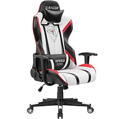 Homall Gaming Racing Office High Back PU Leather Computer Desk Executive and