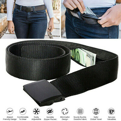 Travel Security Money Belt with Hidden Money Pocket   Cashsafe Anti-Theft Wal_ws