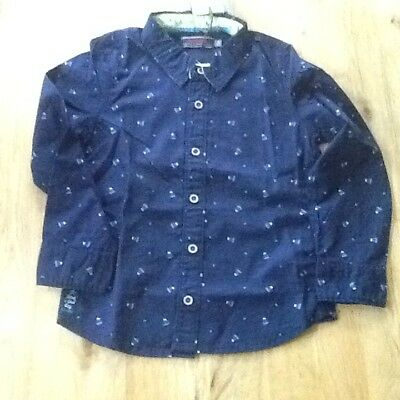 Boys Cotton Long Sleeved Printed Shirt by Catimini 4 years