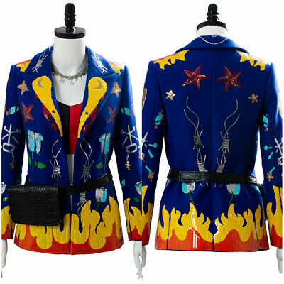 Birds of Prey the Fantabulous Emancipation of One Harley Quinn Cosplay Jacket