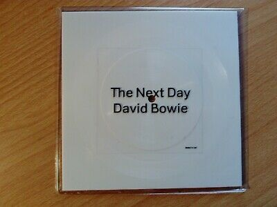 David Bowie The Next Day Ltd Edition 2 Track WHITE Square Shaped Vinyl 7""