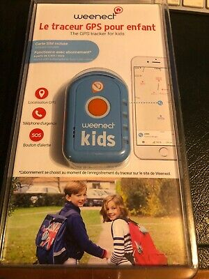 Weenect Kids GPS Tracker Brand New still in boxes