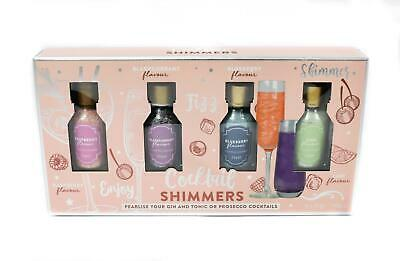 Cocktail Shimmers Pearlise you Gin & Tonic Prosecco Cocktails Gift Set