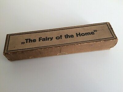 Rare Antique 'The Fairy Of The Home' Hand Embroidery Tool