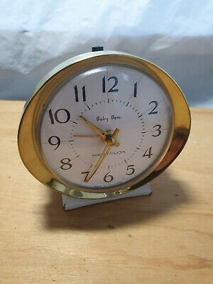 Vintage Wind Up Alarm Clock Baby Ben westclox Made in scotland - Free P&P