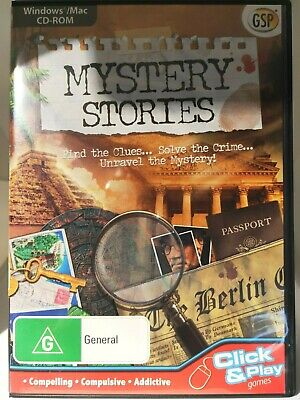Mystery Stories PC CD-ROM, Hidden Object Game