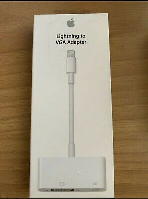 APPLE LIGHTNING to VGA ADAPTER  MD825AM/A - OFFICIAL APPLE PRODUCT