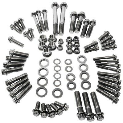 Feuling Chassis & Trim 12-Point Stainless Steel Bolt Kit #3068 Harley Davidson