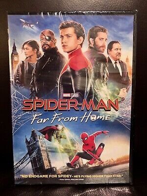 Spider-Man Far From Home Marvel Studios Brand New DVD Only Free Shipping
