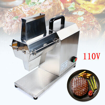 Commercial Electric Meat Tenderizer Machine for Beef Fillet Beefsteak 750W SALE