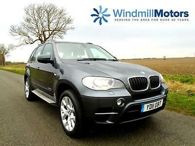 Bmw X5 3.0 30D Se Xdrive 5Dr Grey - Pro Nav And Media - Cream Leather
