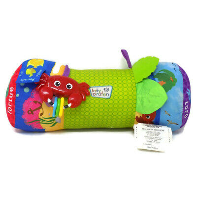 Baby Einstein Rhythm of The Reef Prop Pillow Tummy Time Plush Musical Toy 16""