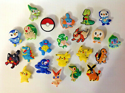 Pokemon Mixed PVC Shoe Charms for your Crocs and Jibbitz