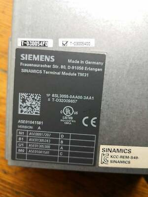 1PC NEW Siemens 6SL3055-0AA00-3AA1 #017