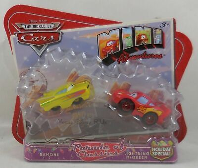 Disney Pixar CARS Ramone Lightning Mcqueen Mater Mini Adventures Holiday Special