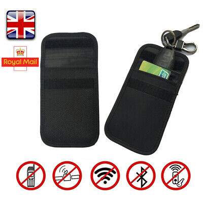 Phone Car Key Faraday Bag Pouch Keyless Entry Fob Signal Guard Blocker Case Safe
