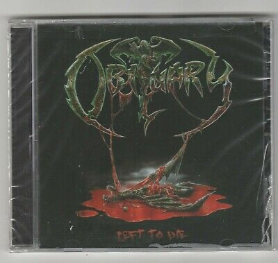 "OBITUARY cd ""Left To Die"" 2008 Candlelight USA NEW Sealed Metal 803341234161"