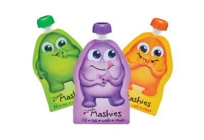 Little Mashies - Reausable Squeeze Pouch - 10 Pack