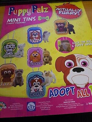 HOOD HOUNDS SERIES 1 2 3 GET ALL 12 Dog Figure Homies W//Collectable Rare Sticker