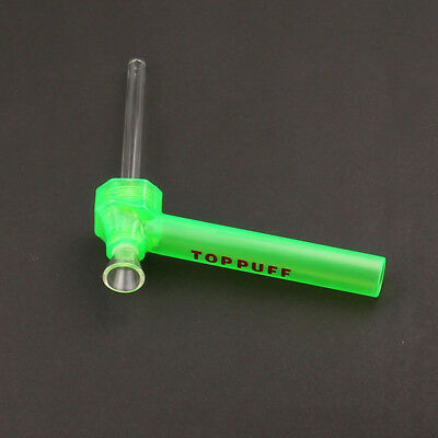 Green Portable Hookah Screw on Bottle Converter Water Smoking Pipe Accessory